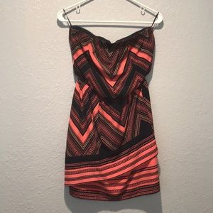LIKE NEW Express Strapless Dress Size Small